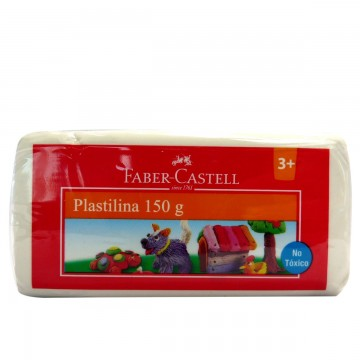 PLASTILINA COLOR BLANCO FABER