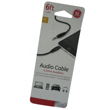 CABLE AUDIO 3.5MM 6FT (1.8M)