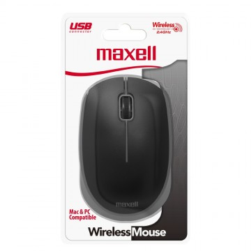 MOUSE MAXELL MOWL-100 BLACK...